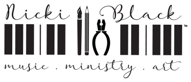 Nicki Black - Music Ministry Art - Nicki Black