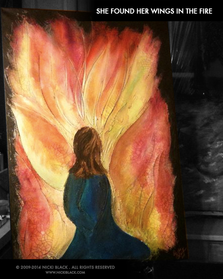 21 - She Found Her Wings In The Fire